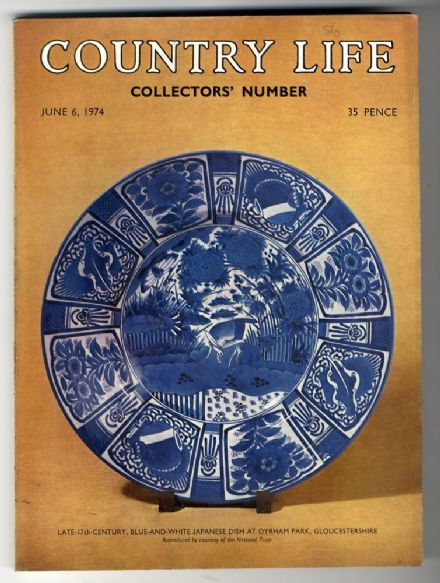 1974 COUNTRY LIFE MAGAZINE 6 June Ann Irvin Japanese Porcelain SCHLOSS FAVORITE Lowther Trials